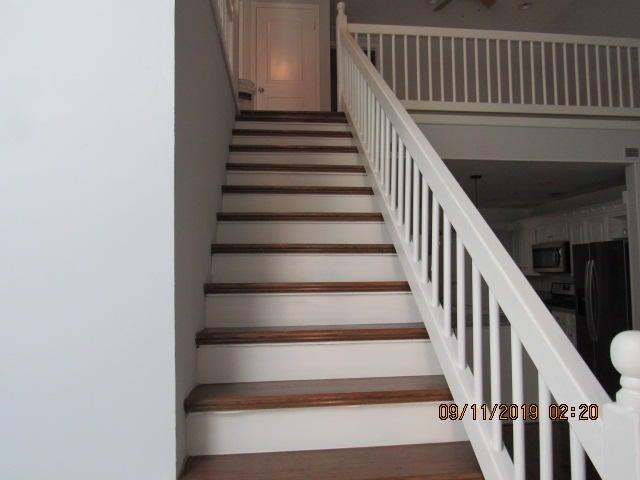 New hardwood steps