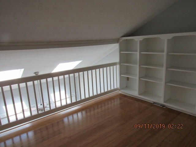 upstairs office or library