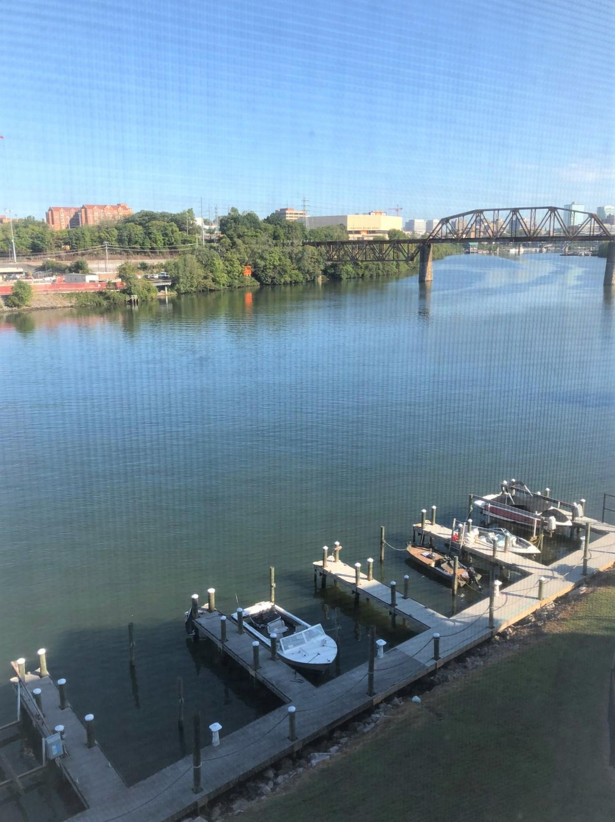 Boat Docks view to UT