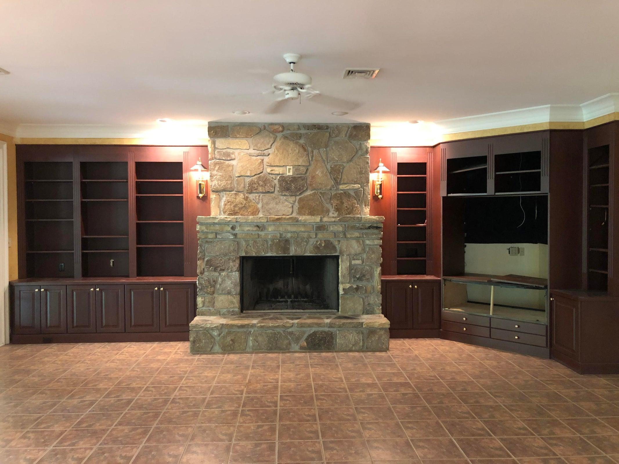 3rd fireplace in basement
