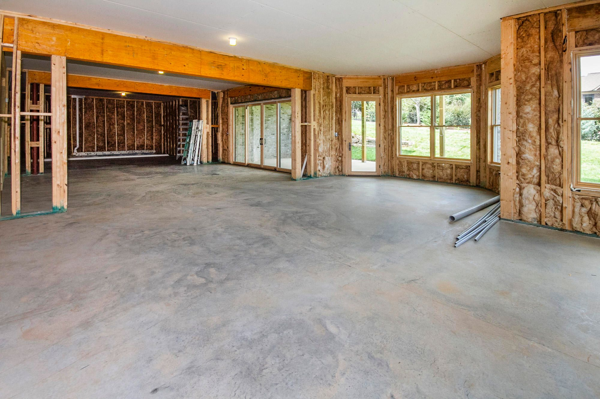 Huge Unfinished Basement