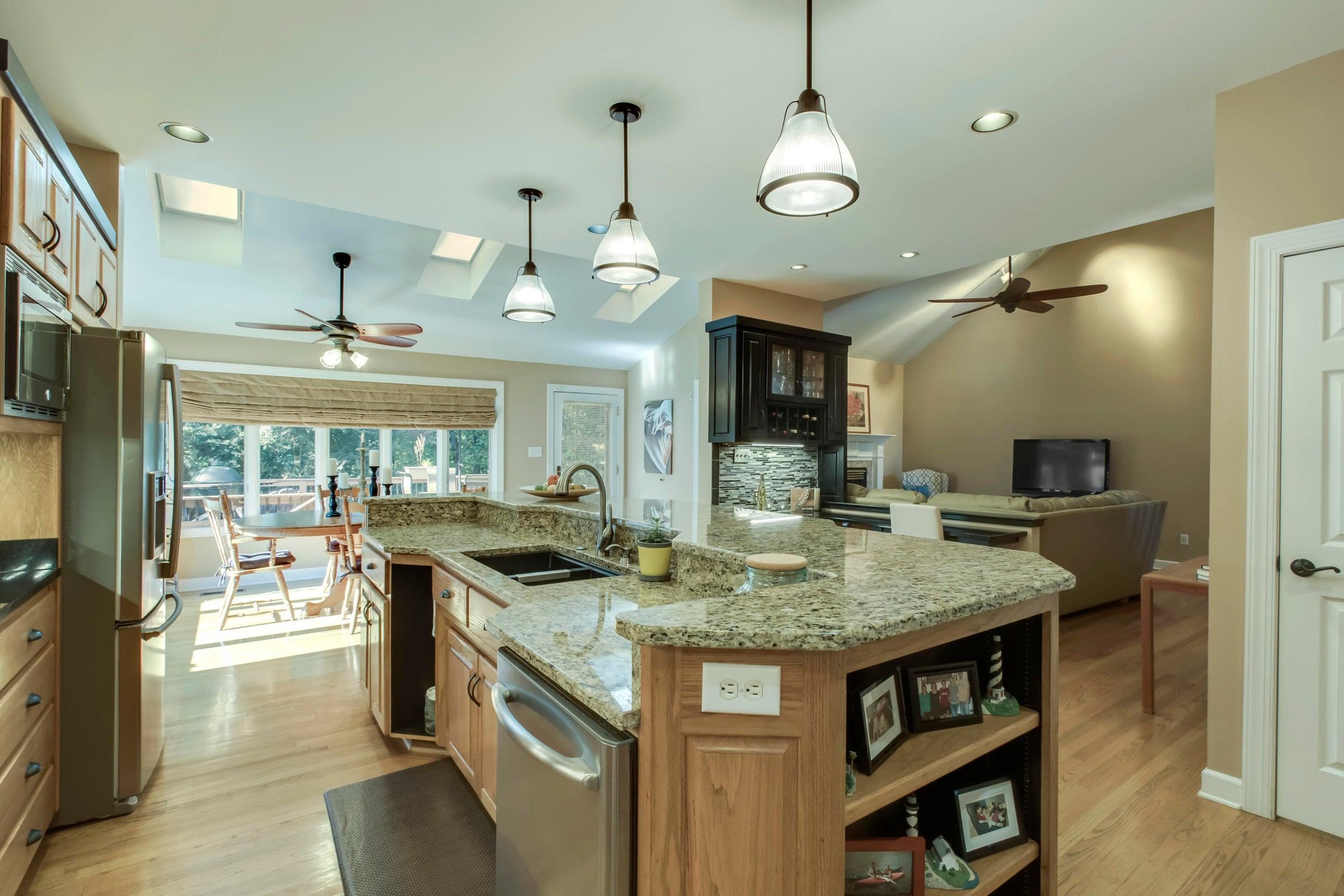 Large Kitchen Island