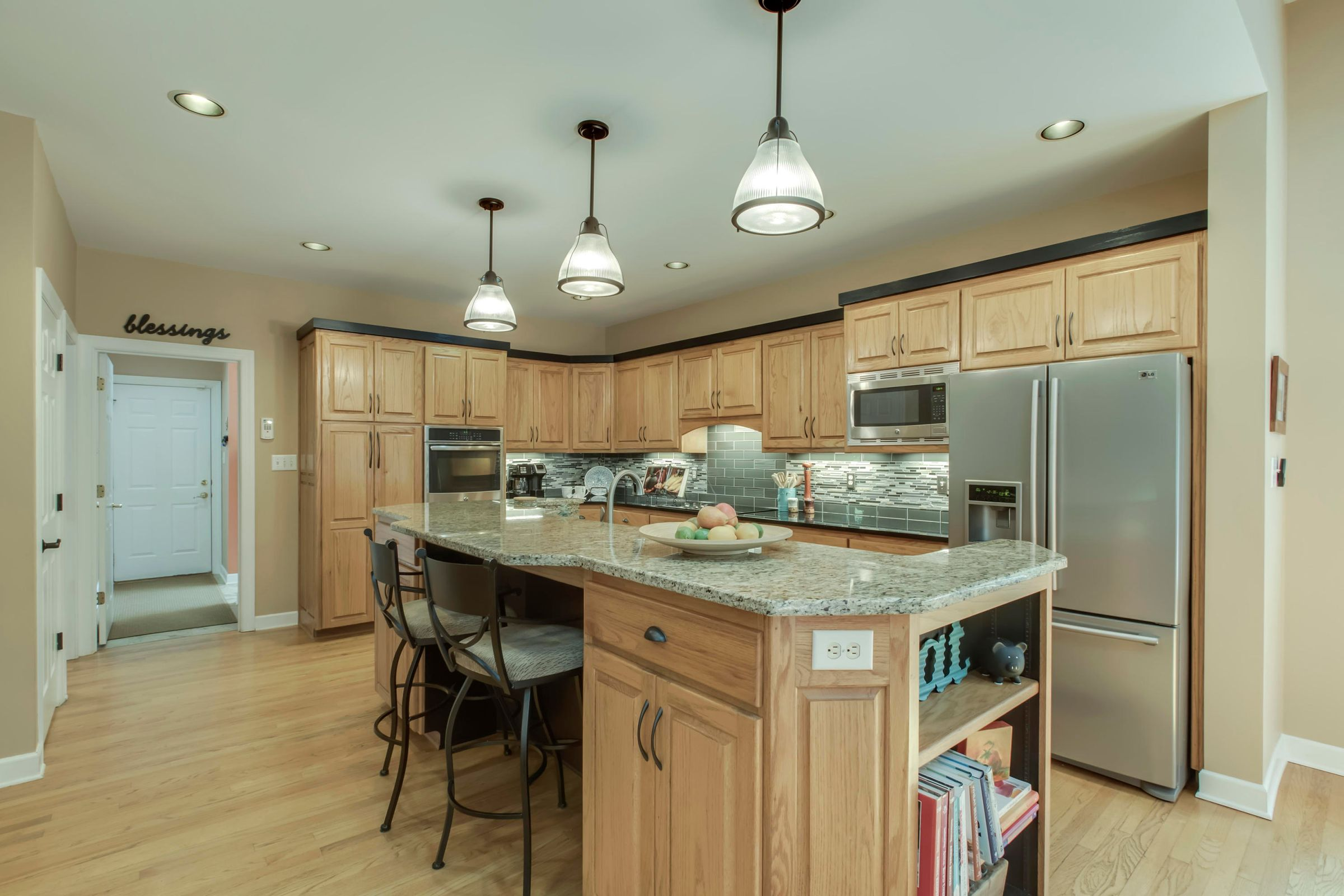 newer stainless appliances