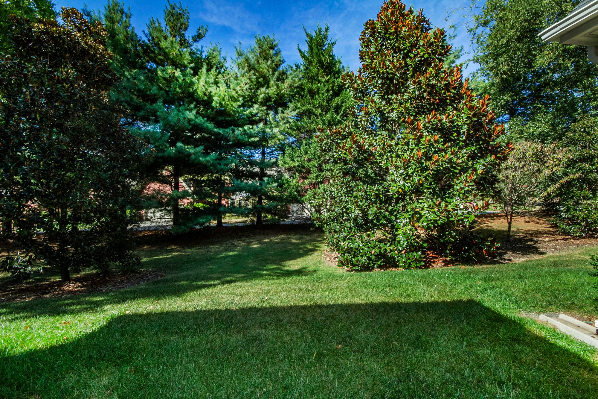 Great level & private yard