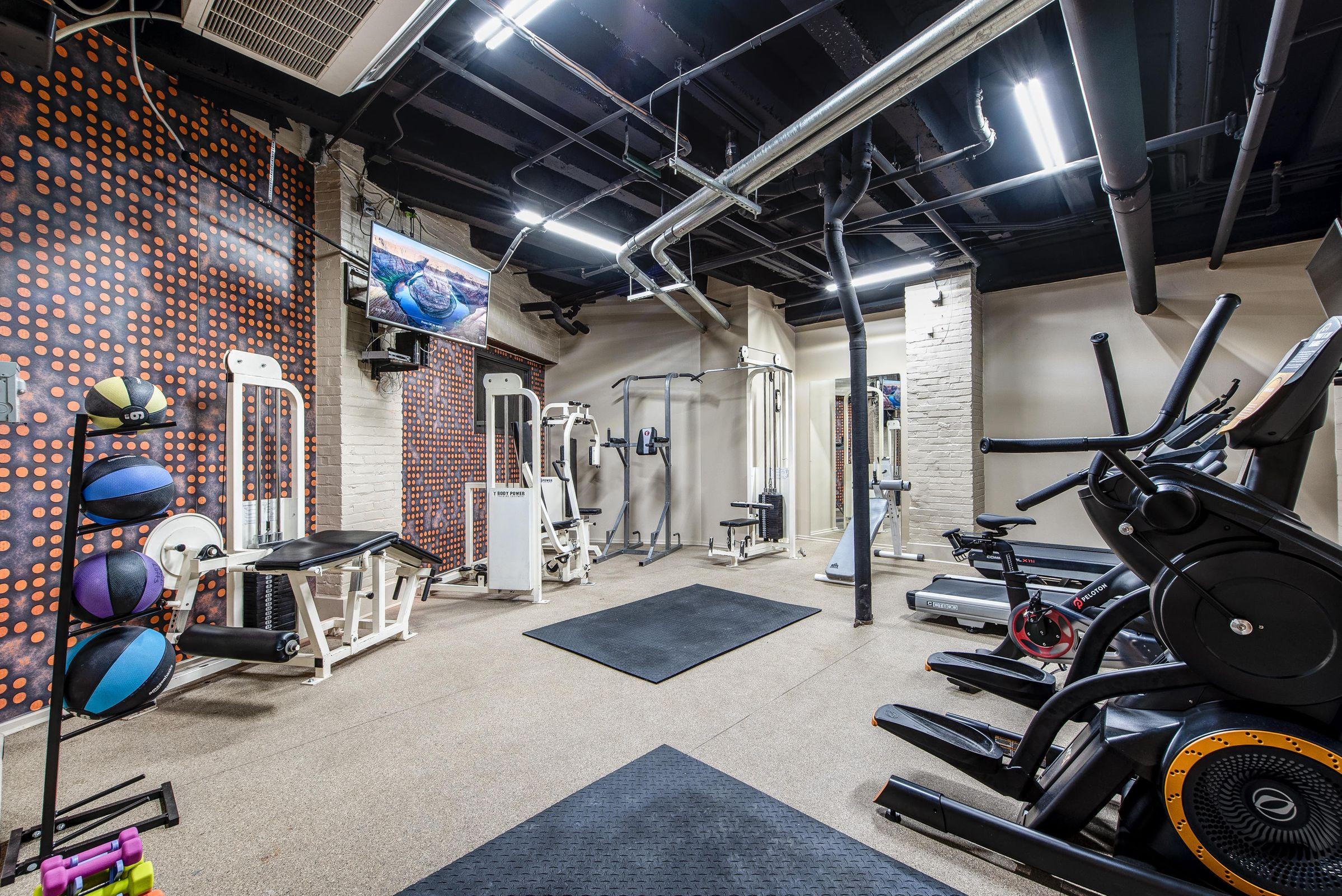 Sterchi Lofts Fitness Center