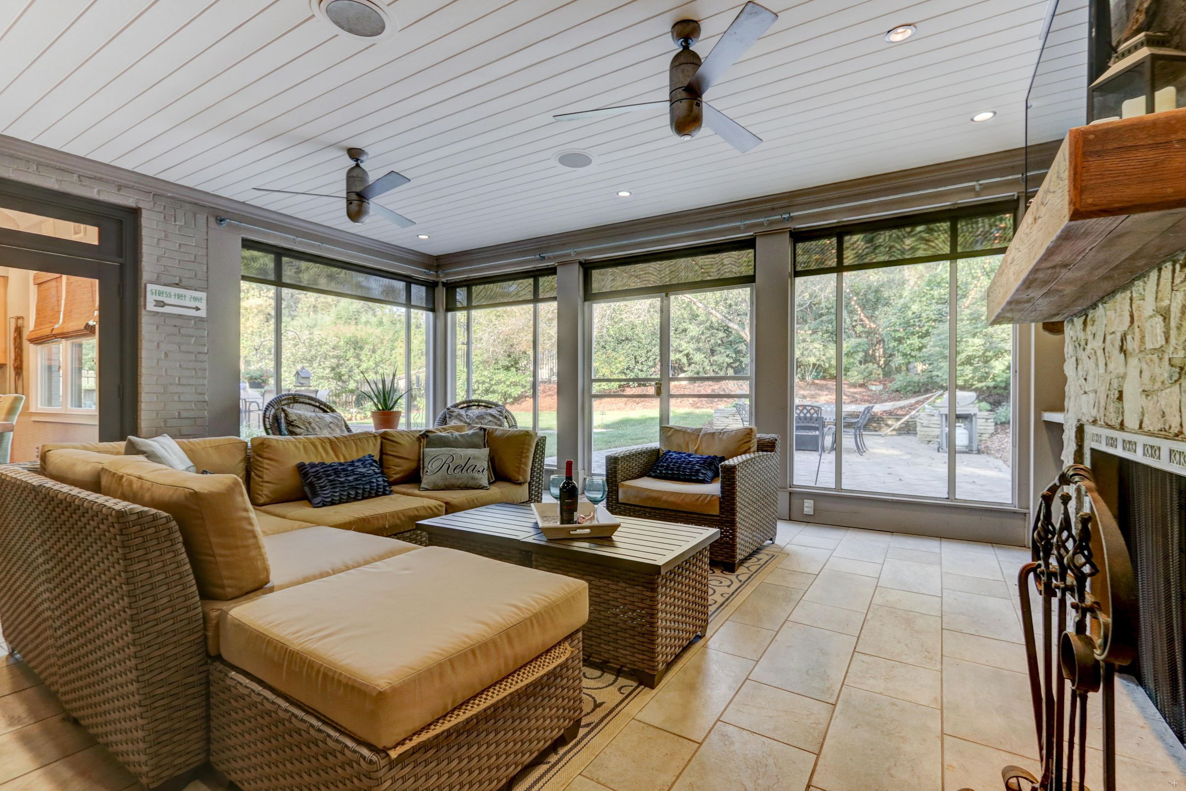 Screened Porch for Entertaining