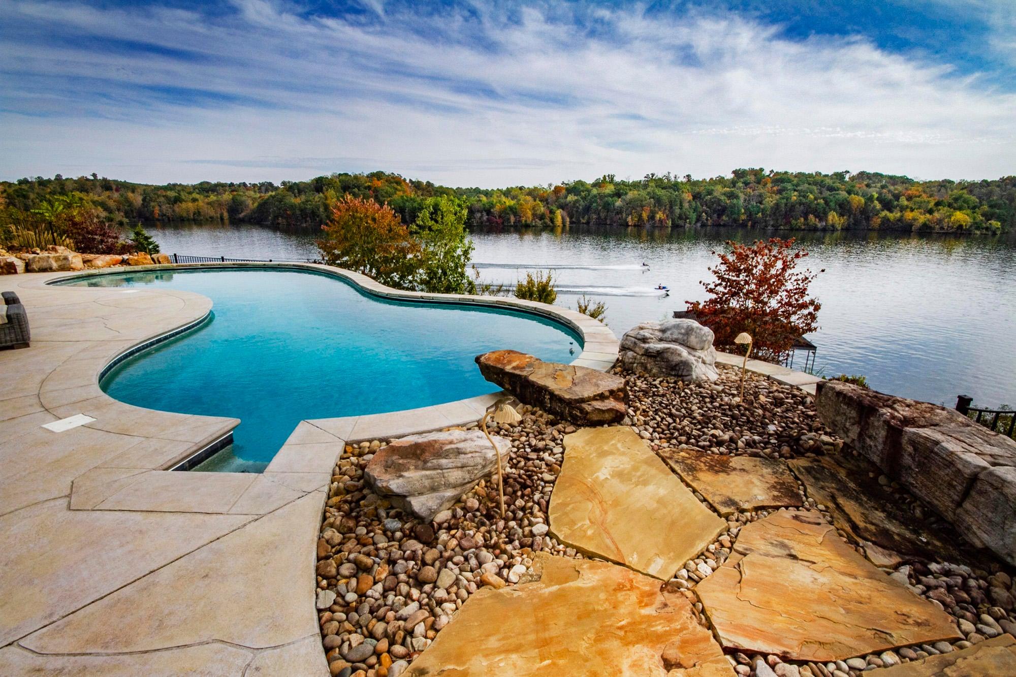 Pool Deck Views!