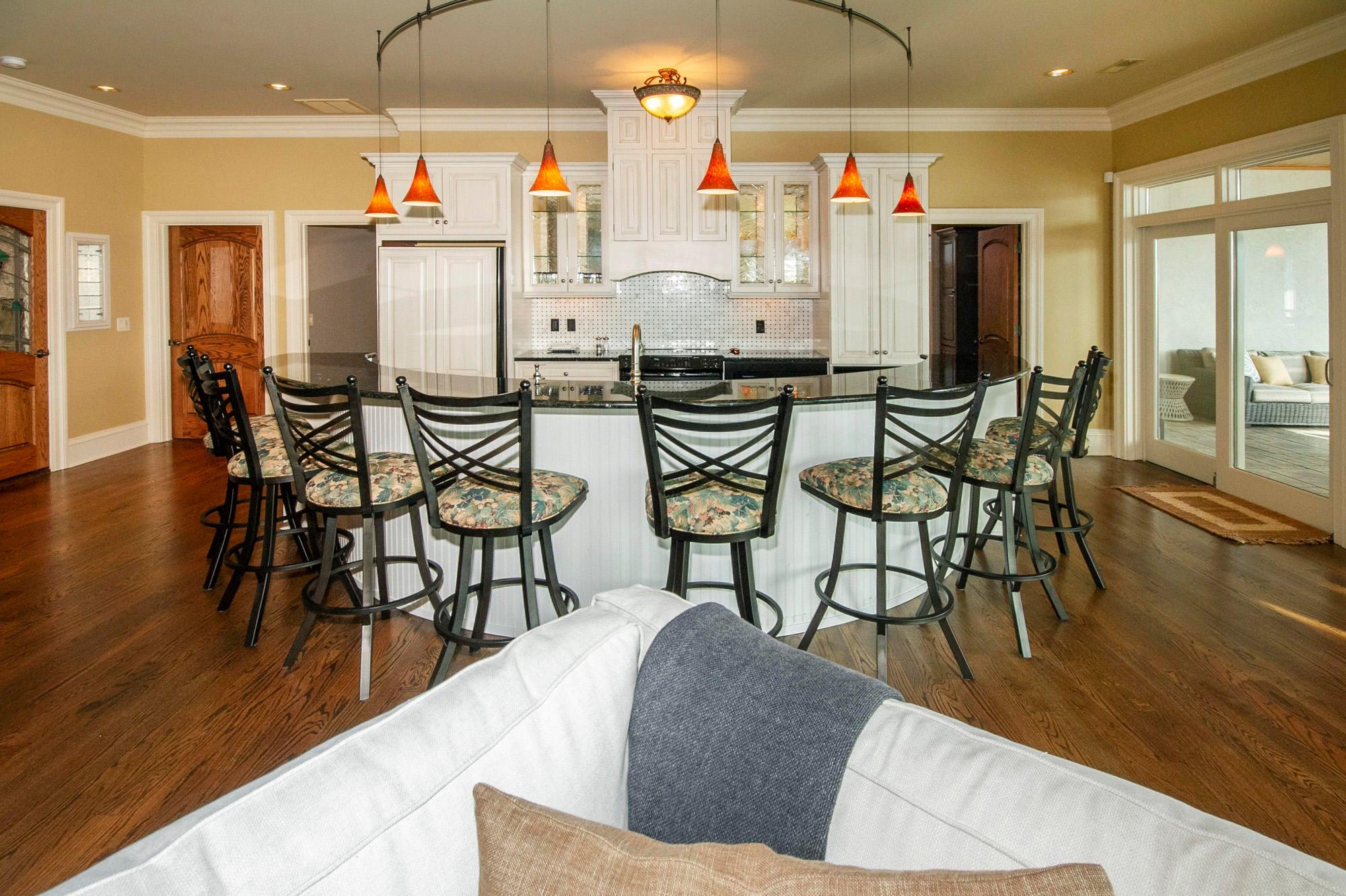 Terrace Level Kitchen & Bar!