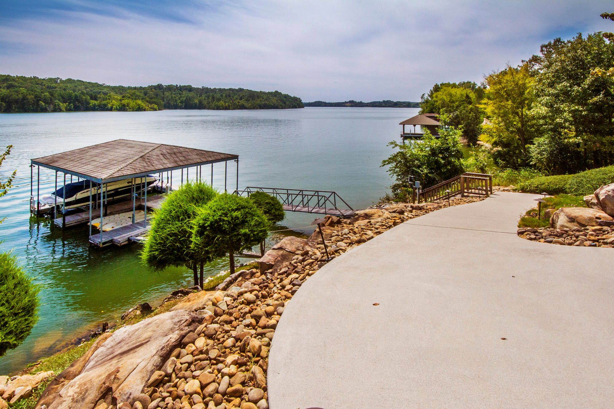 Paved Path to the Dock!