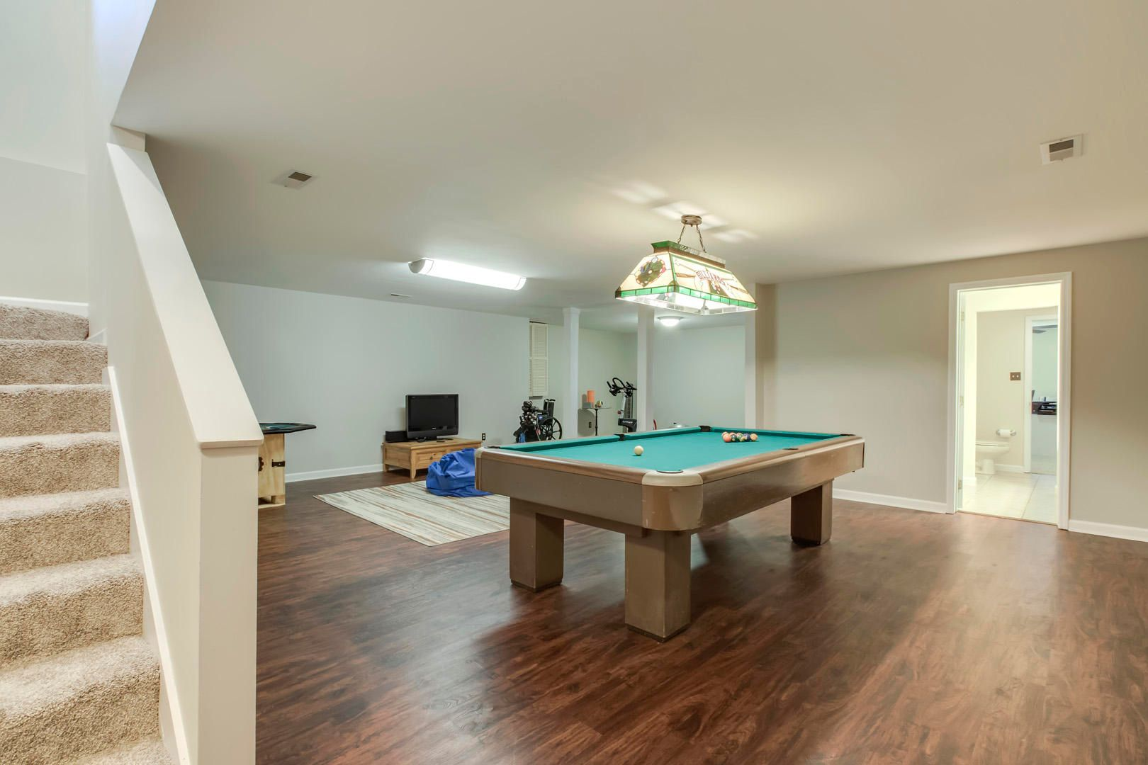 Rec Room with Billiard Table