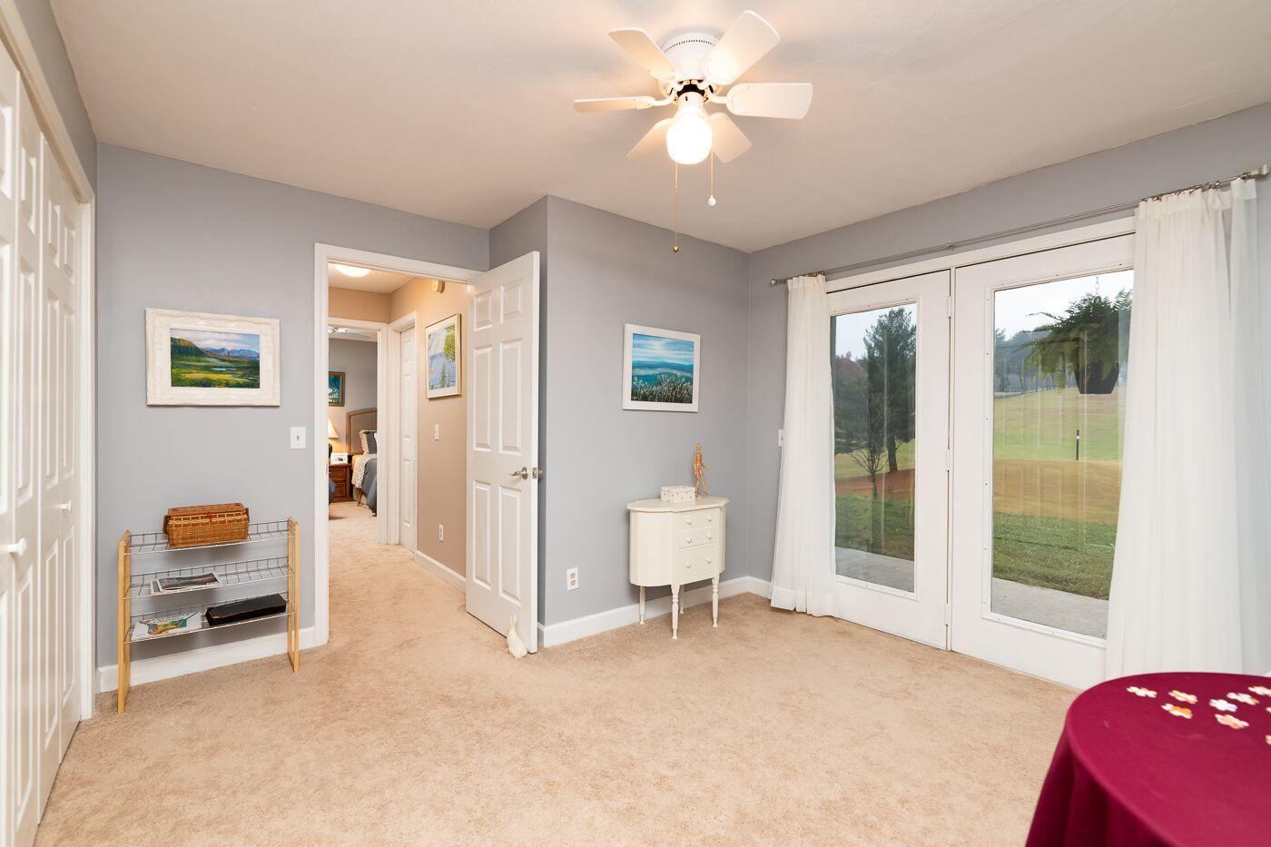 Bedroom 3 & Doors to deck