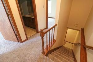 Stairway & Hallway upstairs