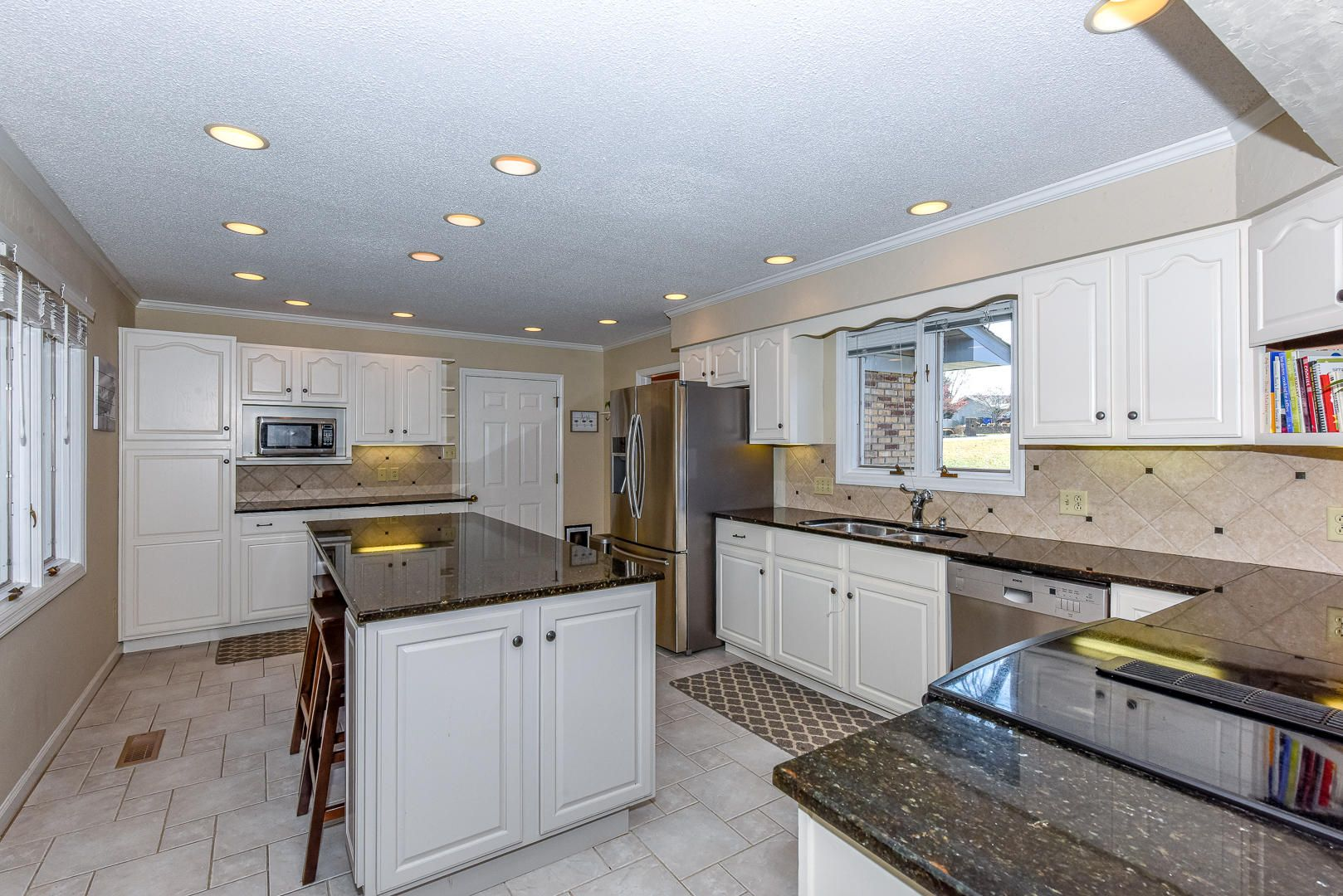 Great Cabinet & Countertop Space