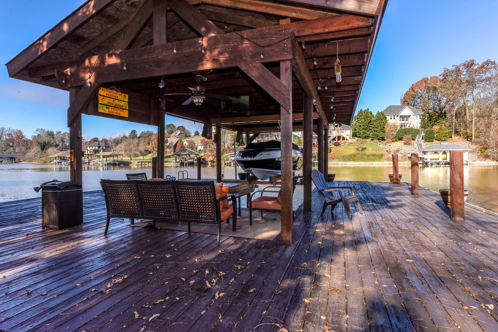 Covered Boat Dock