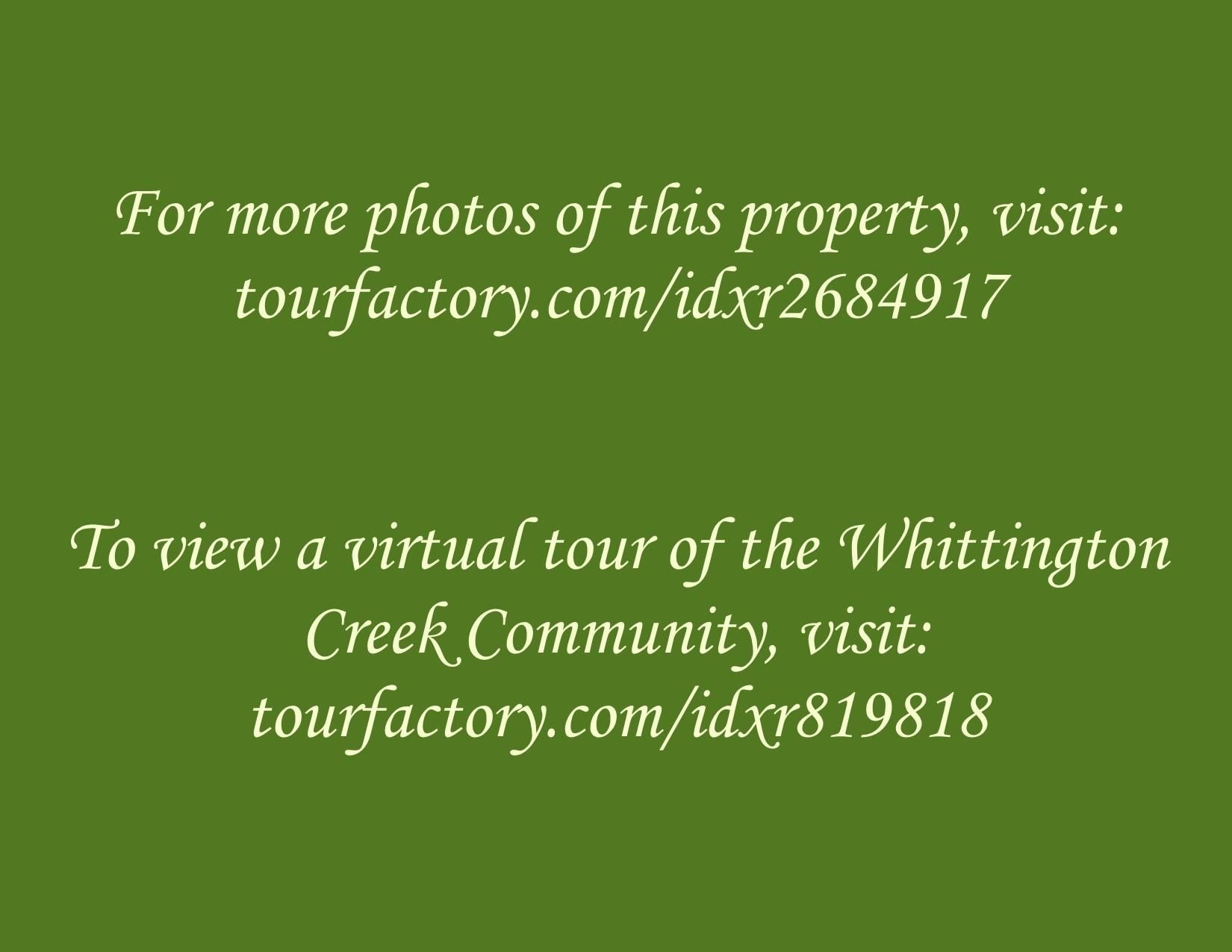 Virtual Tour Links
