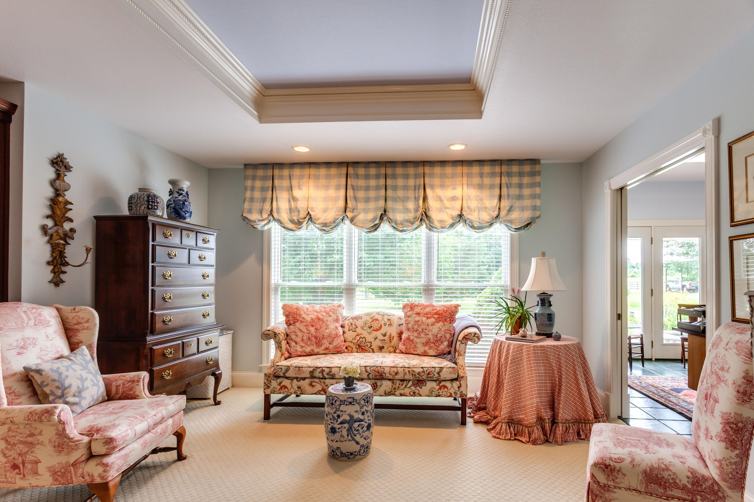 Relax in the Master bedroom sitting area