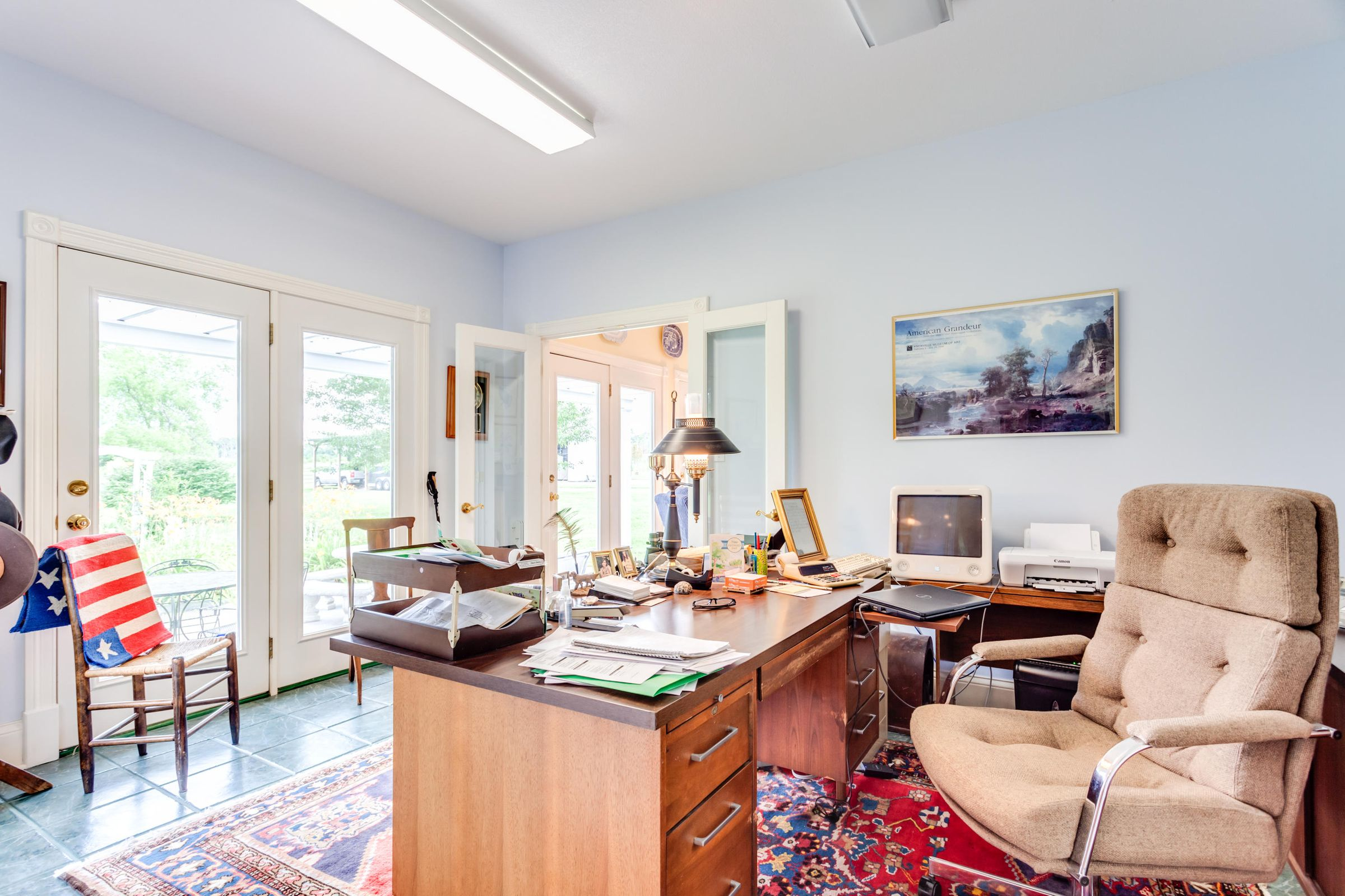 The master suite office
