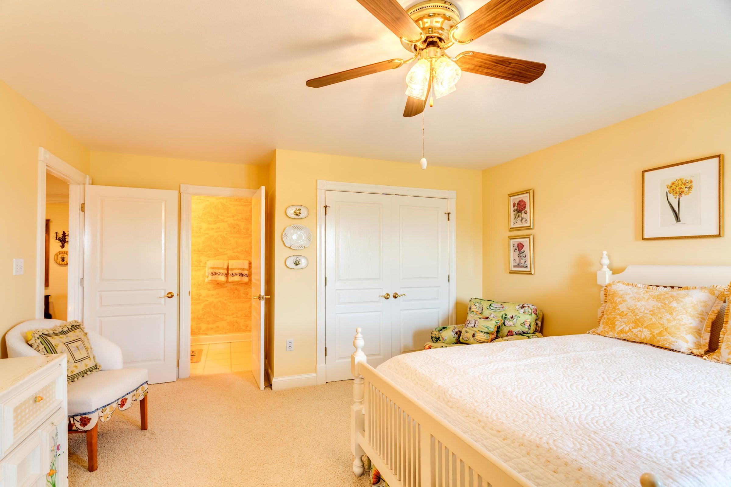 Bedroom 2 has a private bath