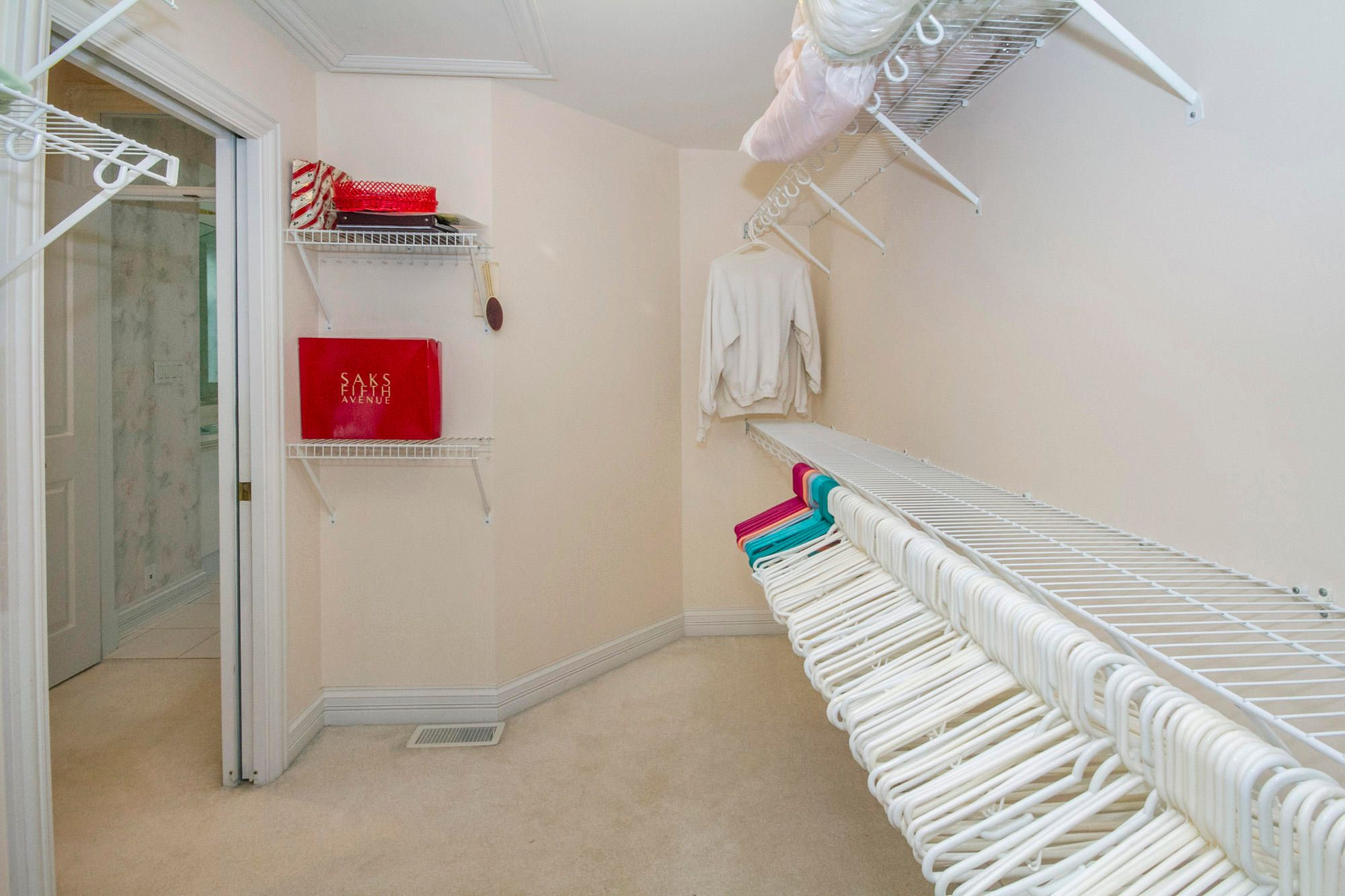 Large Walk-in Closets Throughout!
