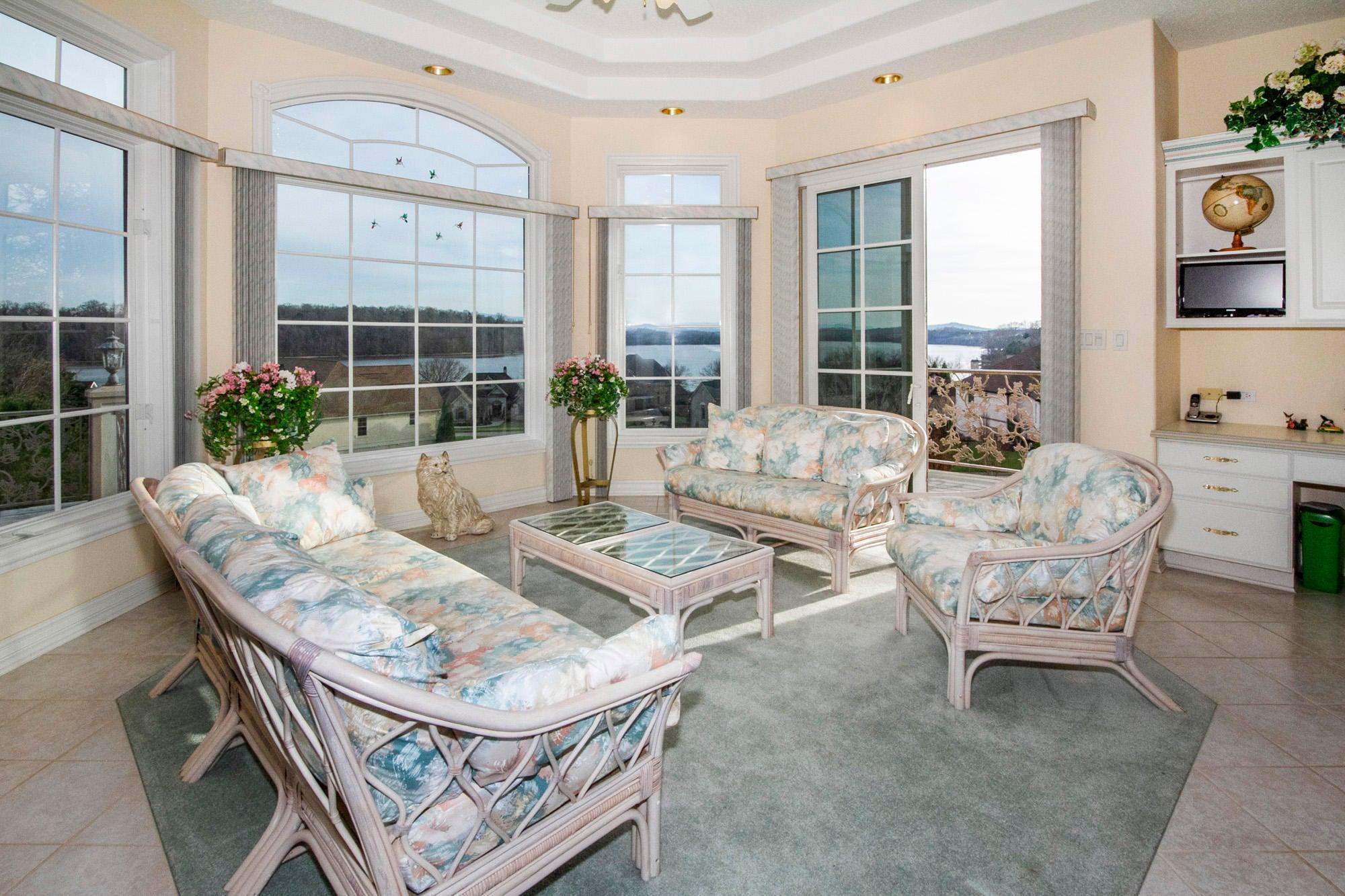 Sun Room with Lake & Mountain Views!