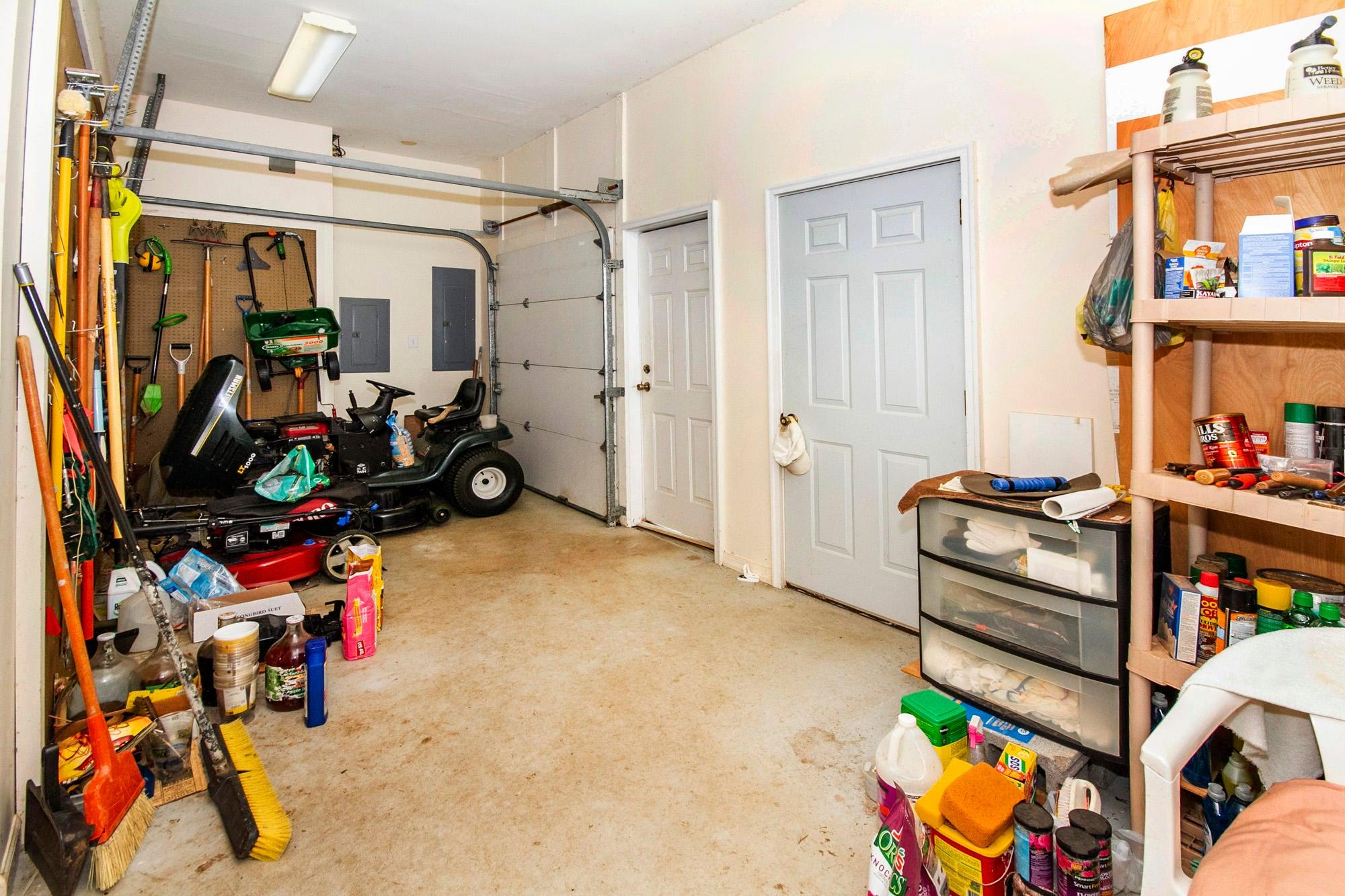 Terrace Level Golf Cart Garage!