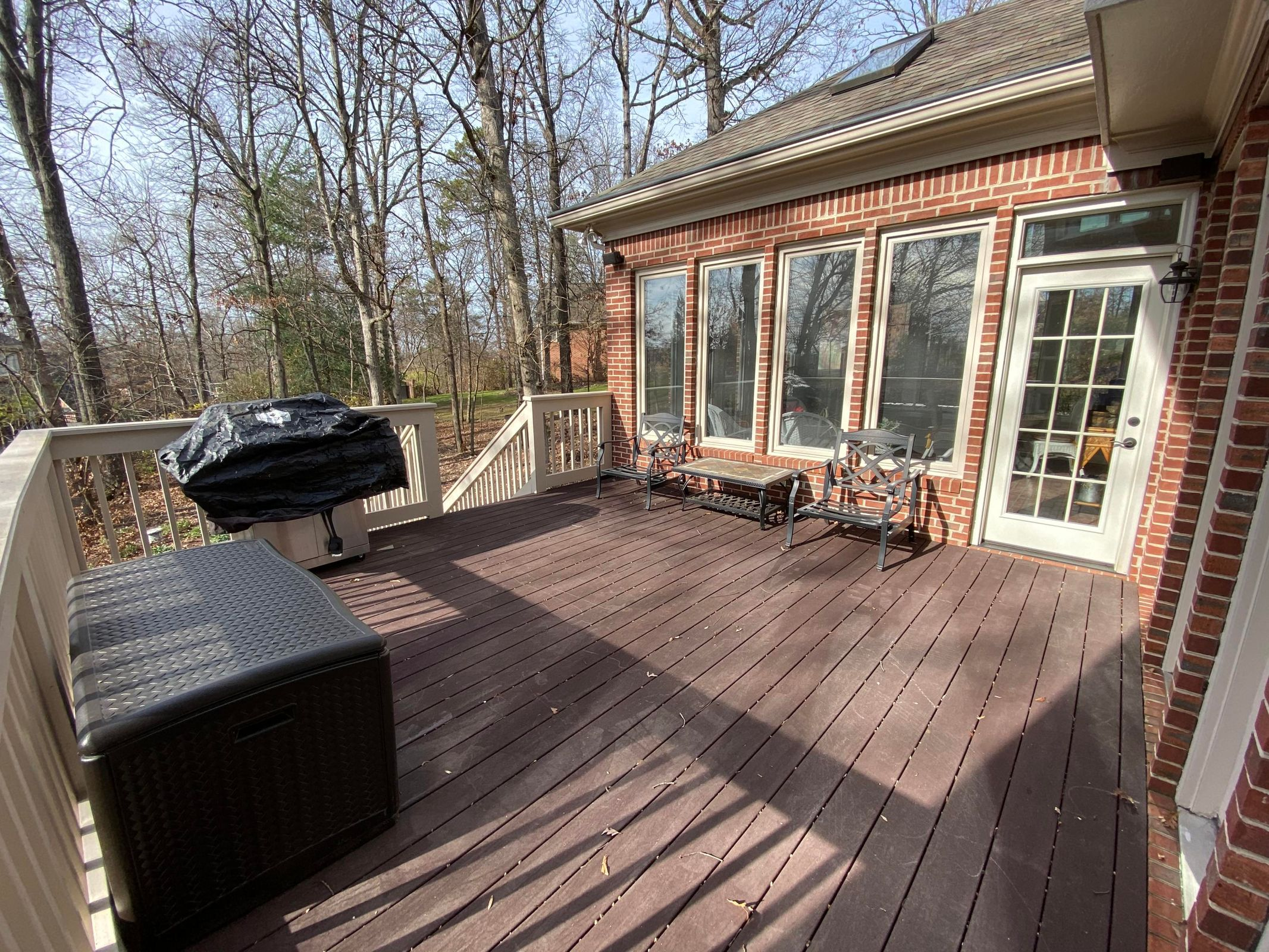 Deck Looking to Sun Room