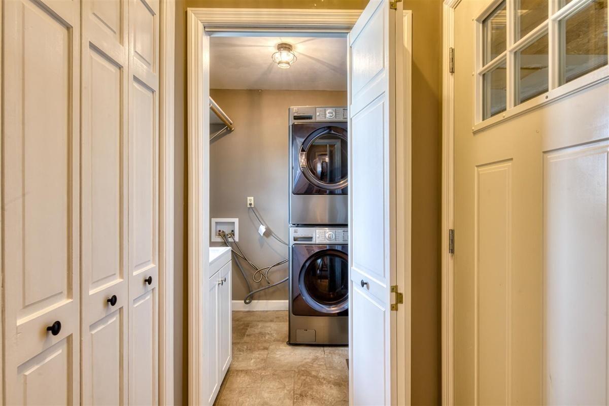 Mud room/Laundry entry off garage