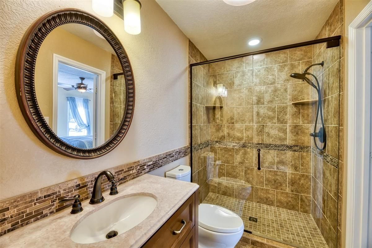 Main Level Bath Completely Renovated