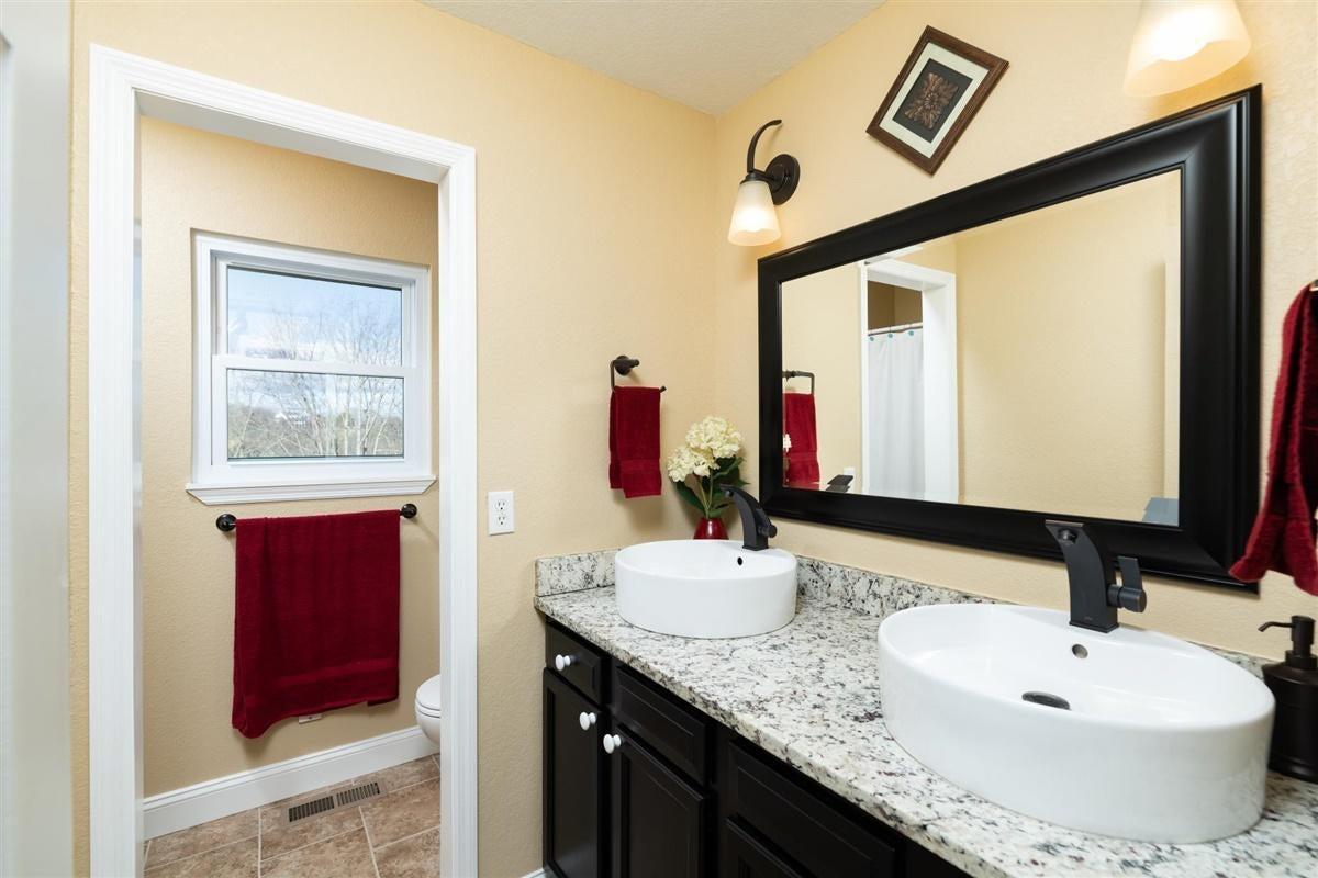 Double Vanity in En Suite Bath