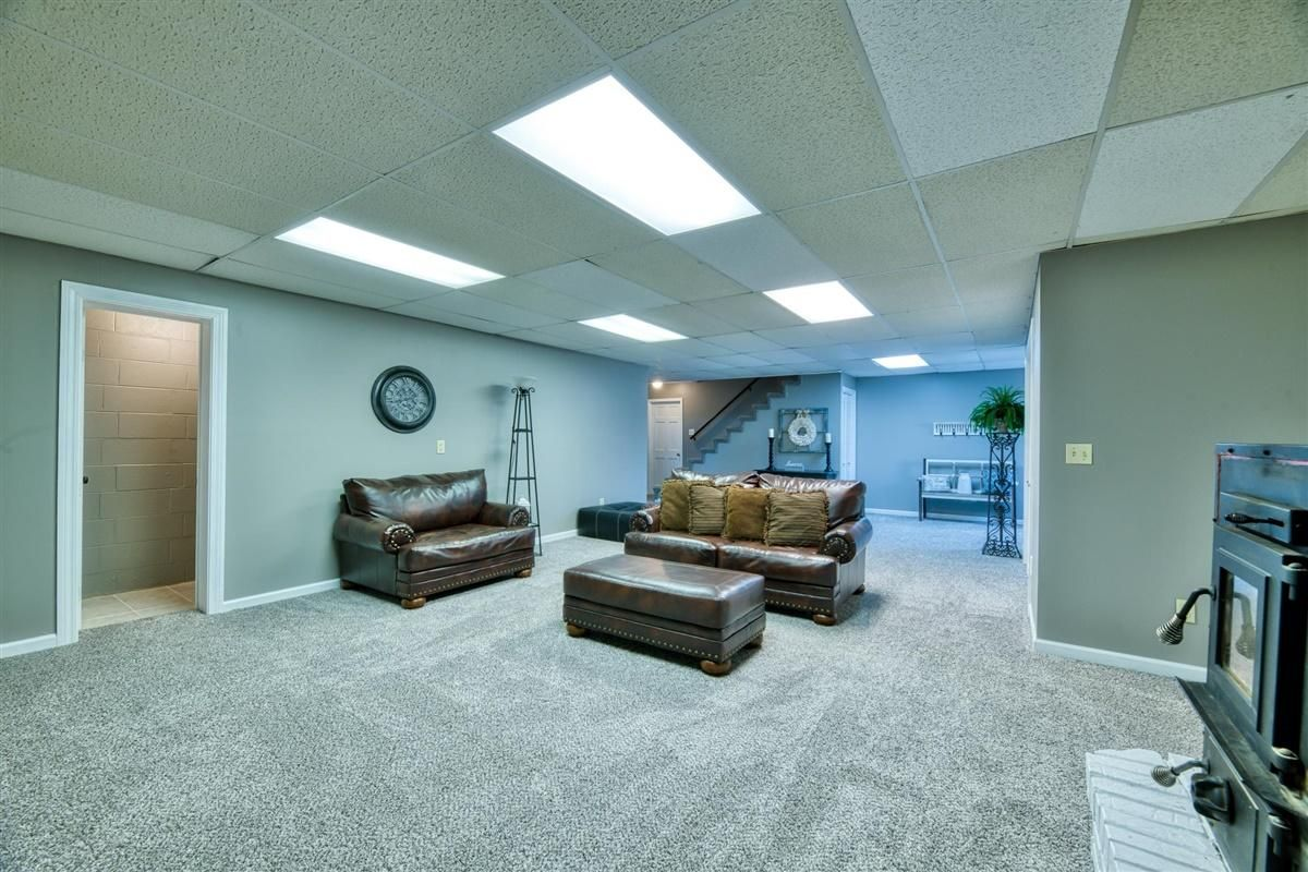 Walk-Out Basement with half BA