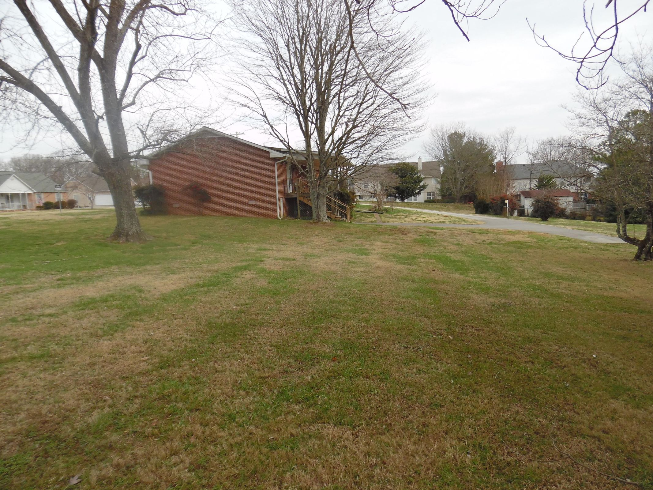 Over 1 acre lot