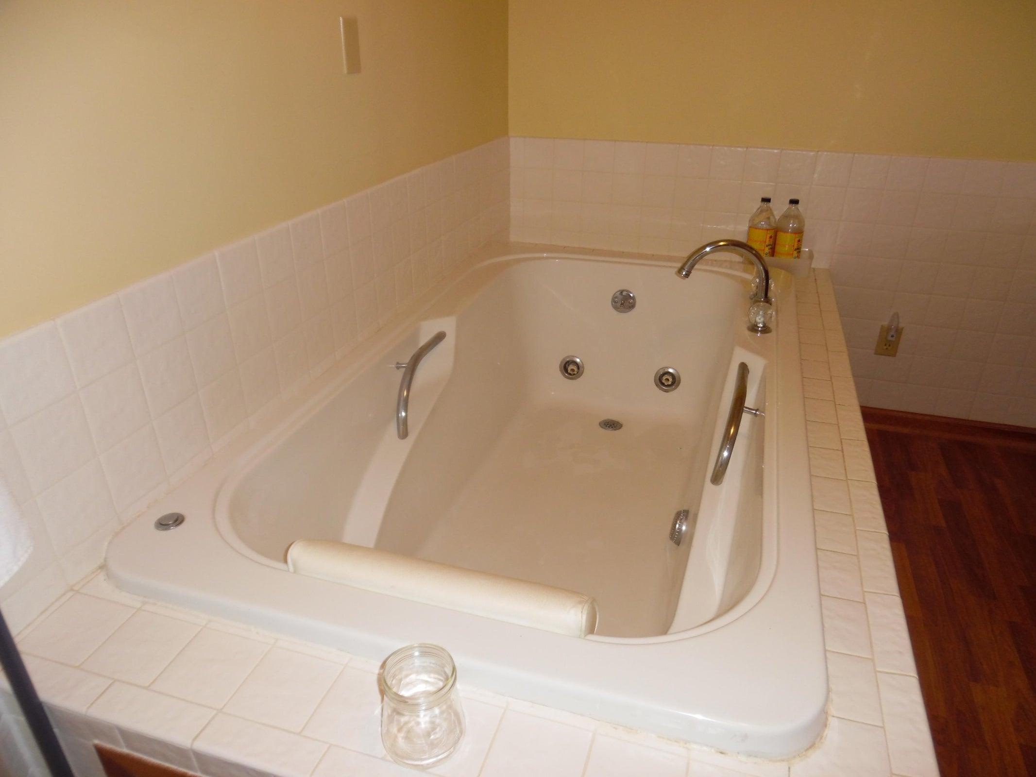 Oversized Whirlpool Tub