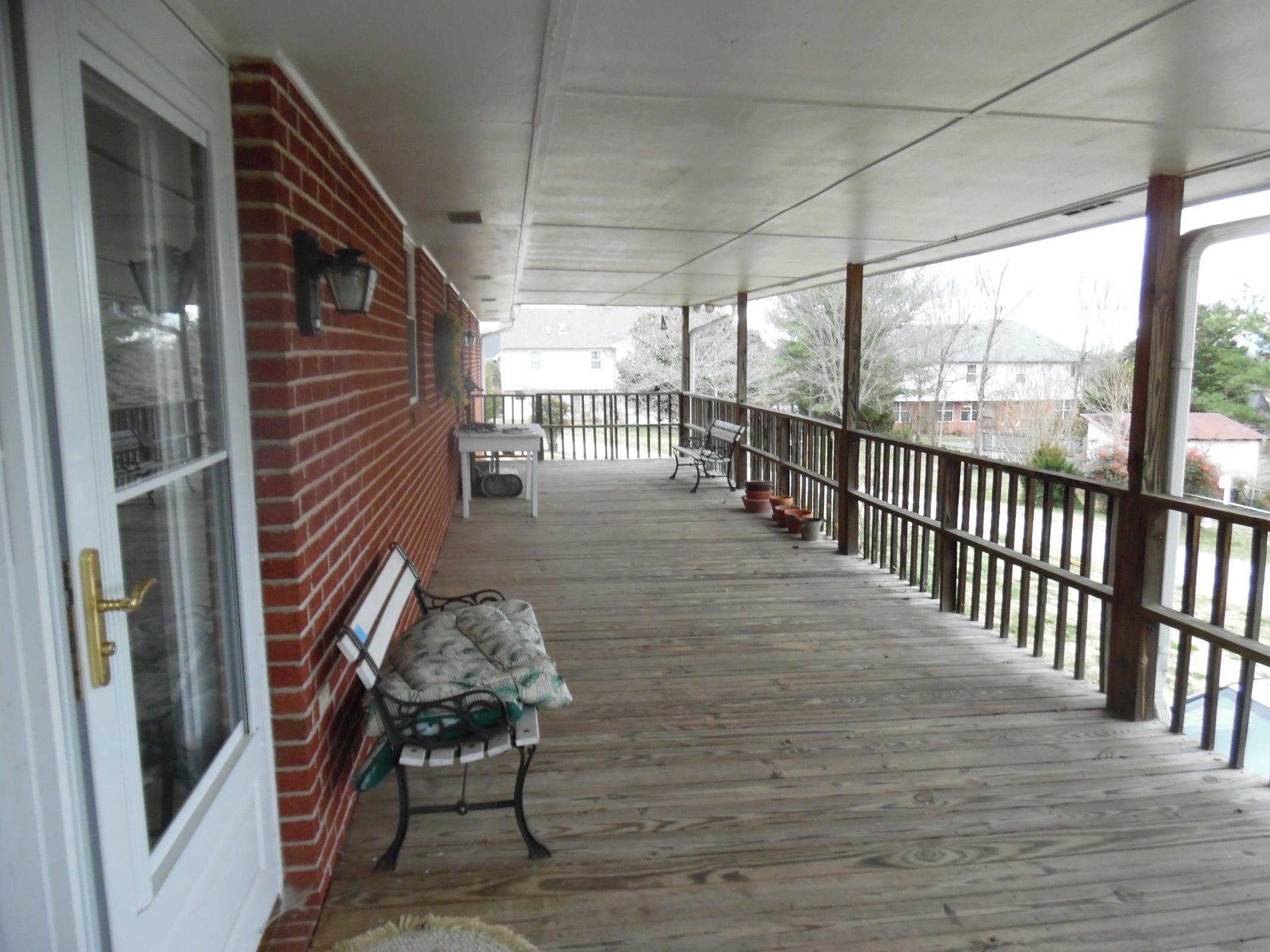 Cover Back Porch