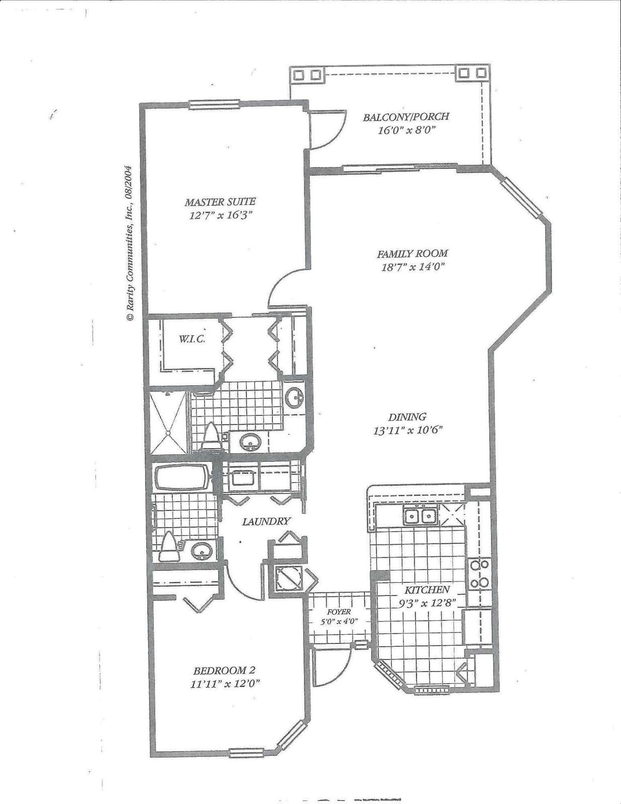 Monet Floor Plan