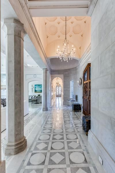 Beautiful Marble Entry