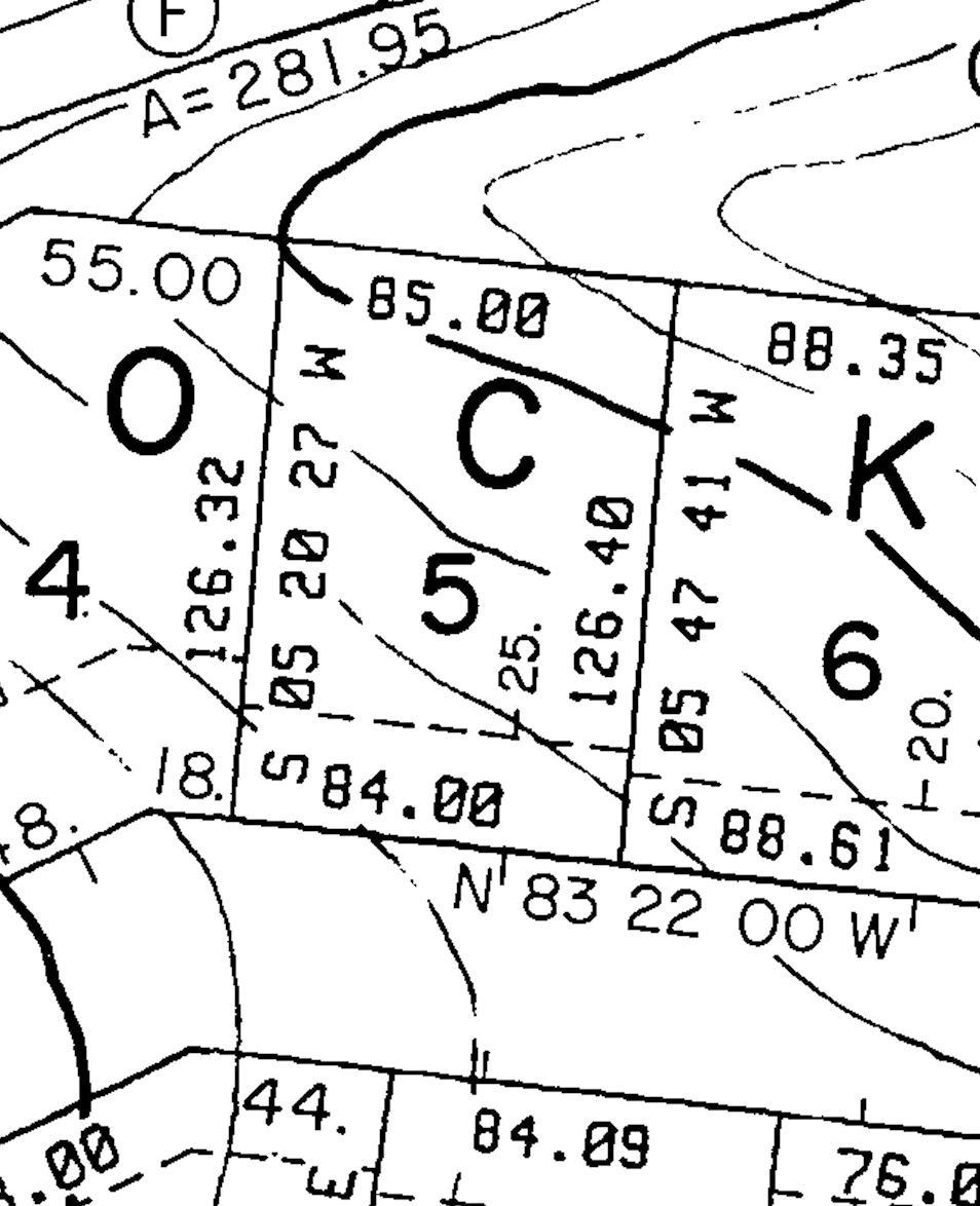 435 Tigitsi Circle Plat Map