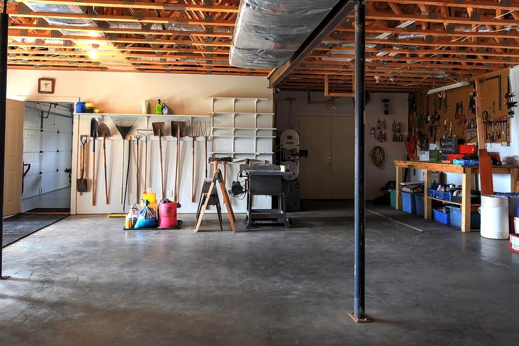 Unfinished Workshop Area