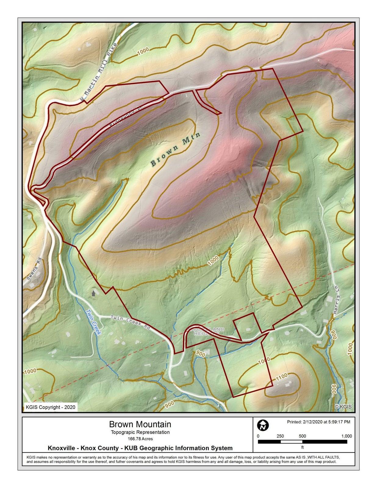 Topographic Representation