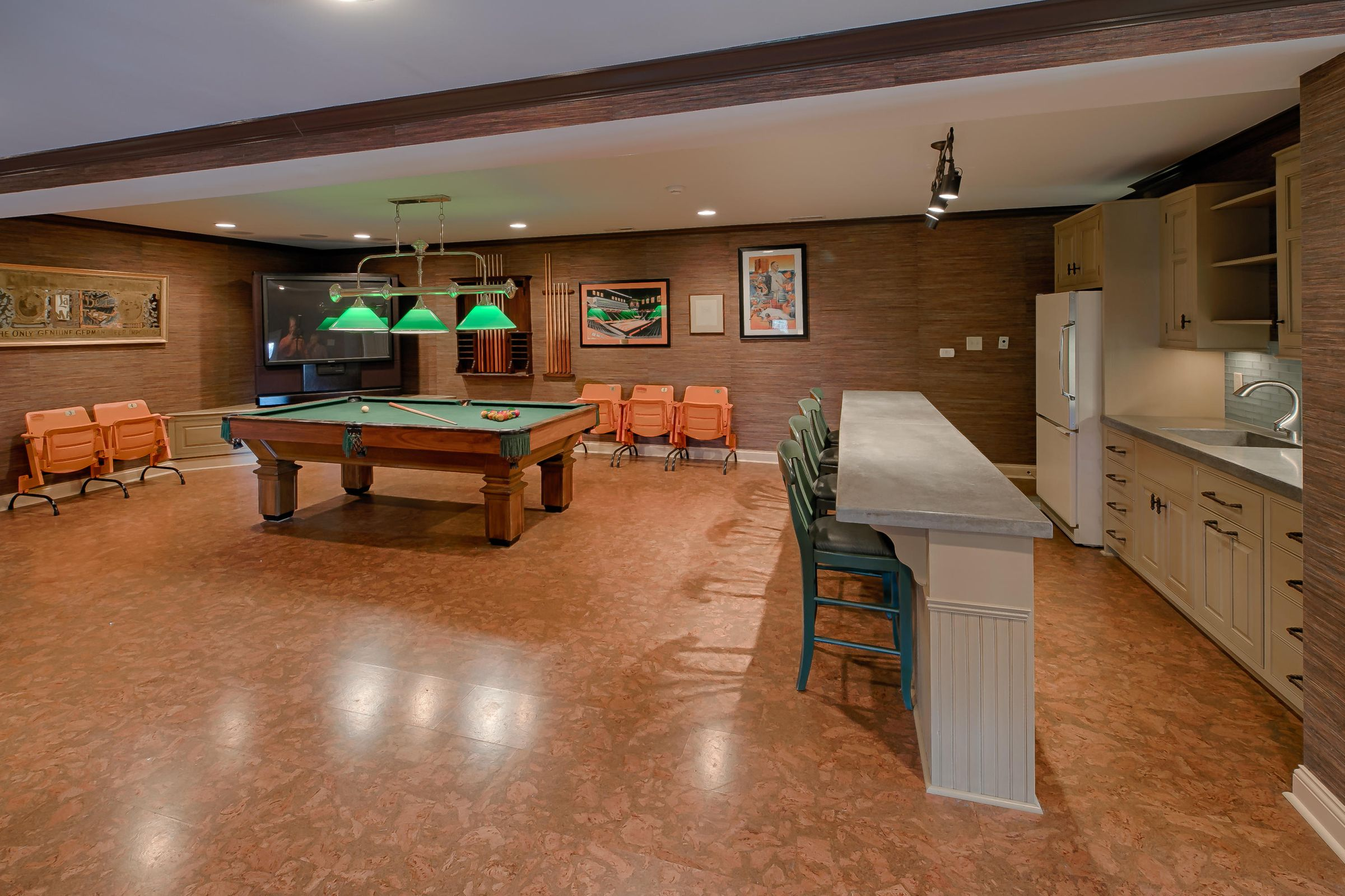 Billiards Room with Kitchenette