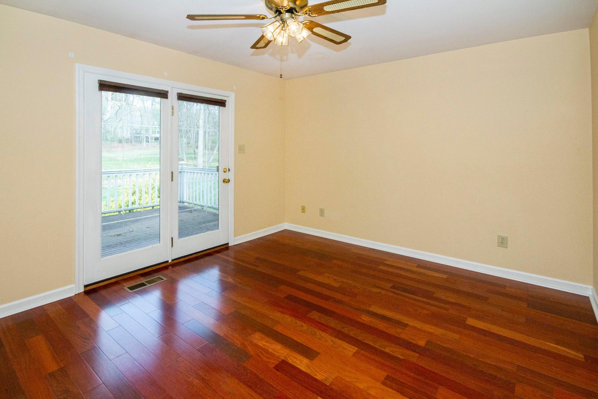 Bedroom 2 with Deck & Golf Views!