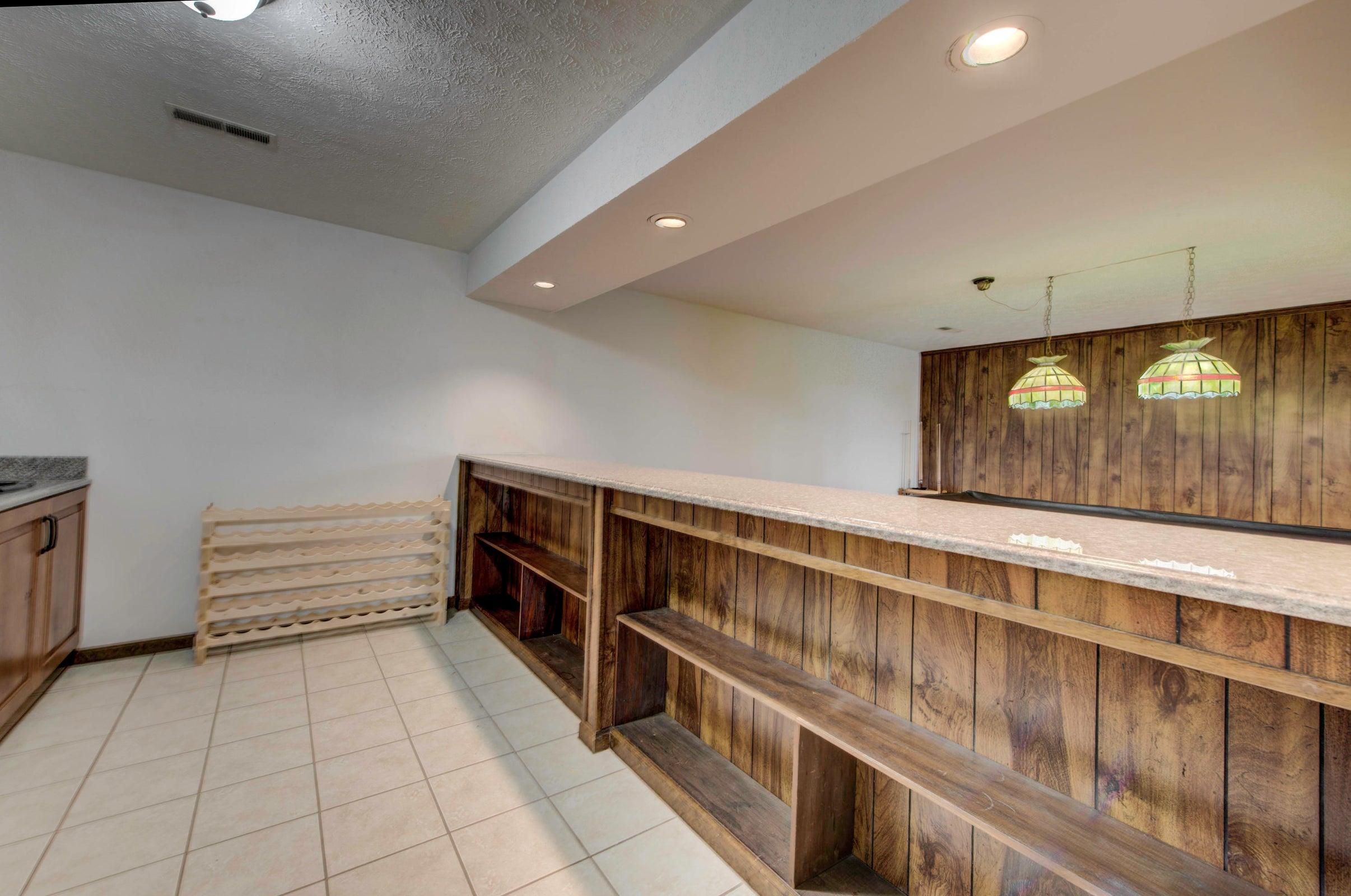 Basement mini kitchen