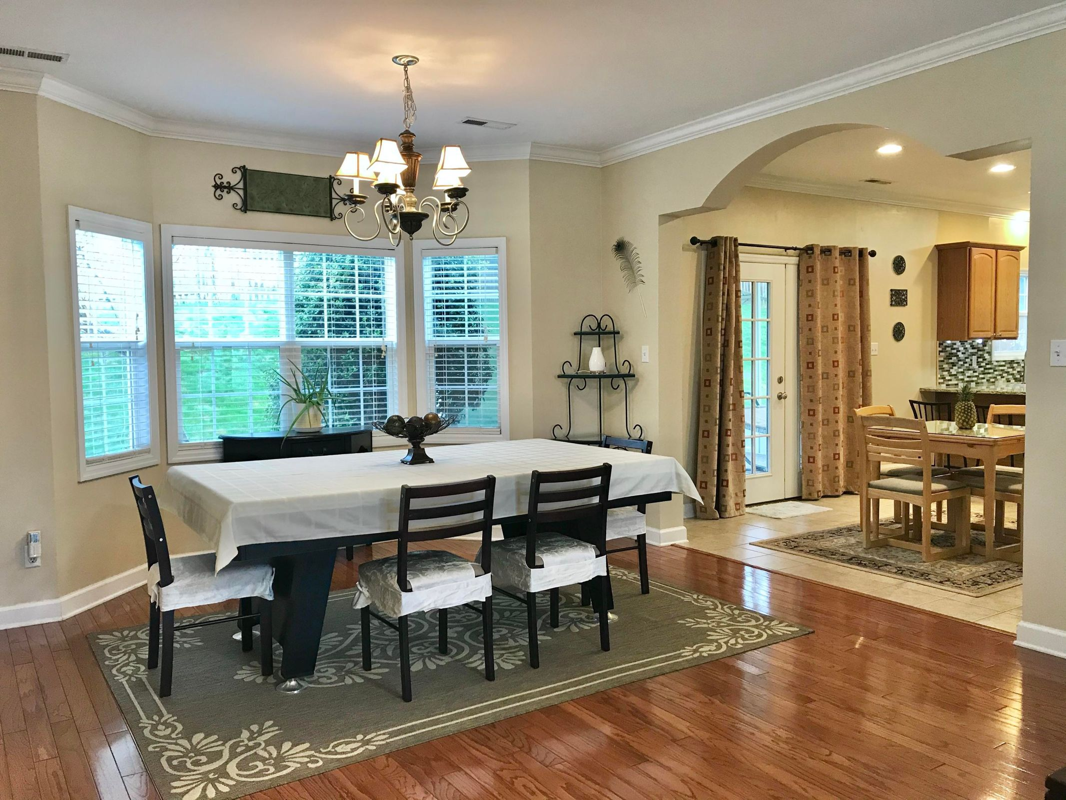 Formal Dining /Arched Opening