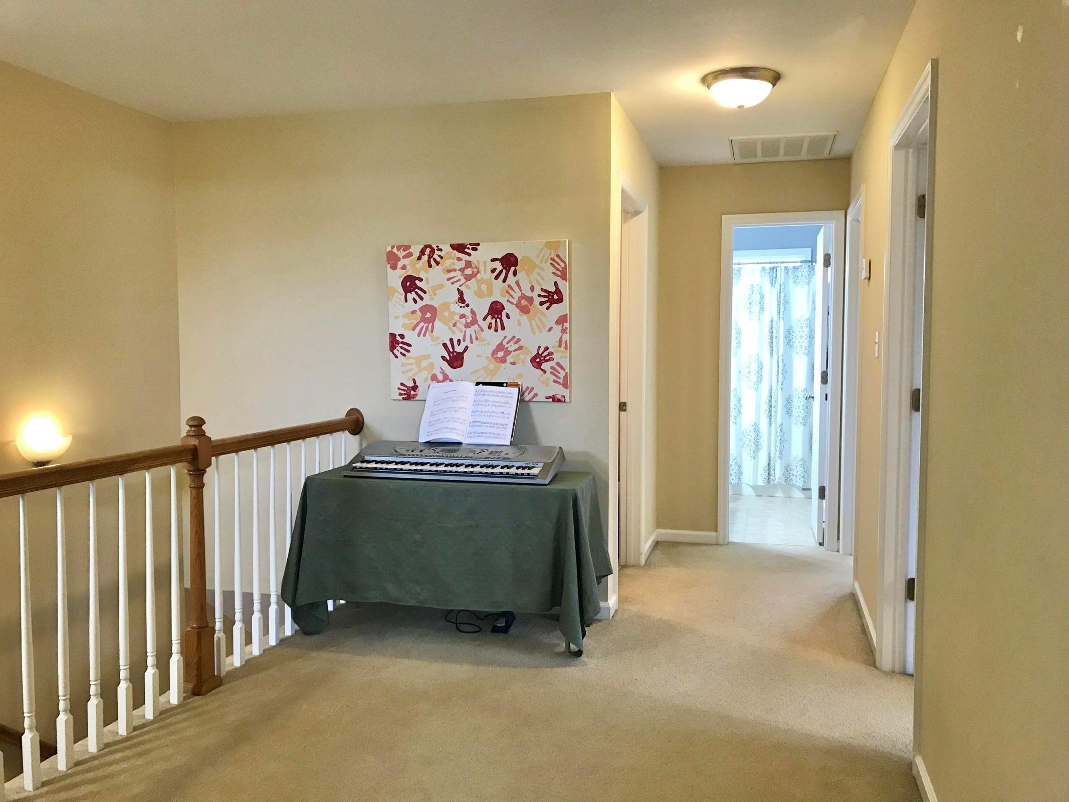 Spacious hallway nook