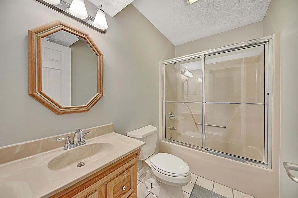 Full Bath in Basement
