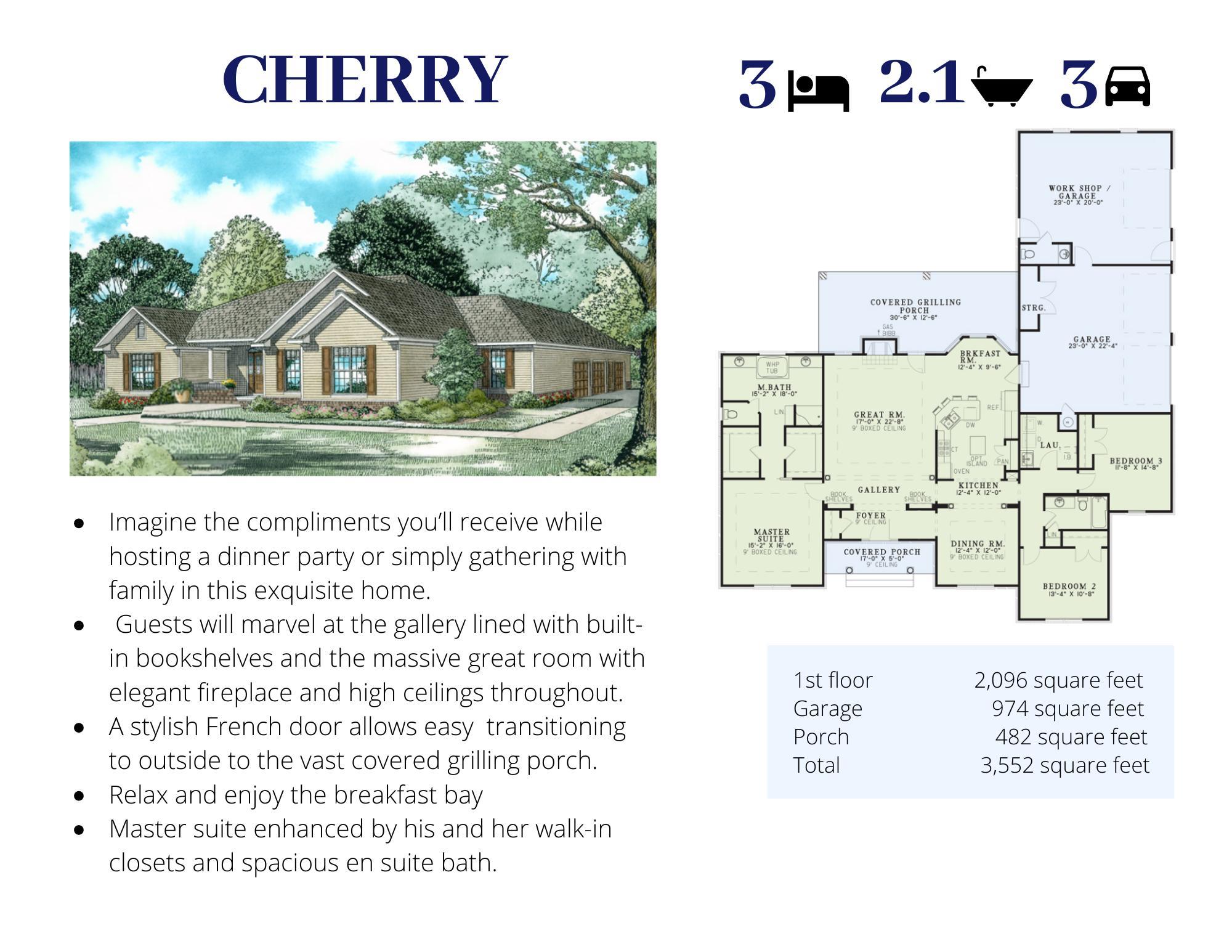 The Chery Floor Plan