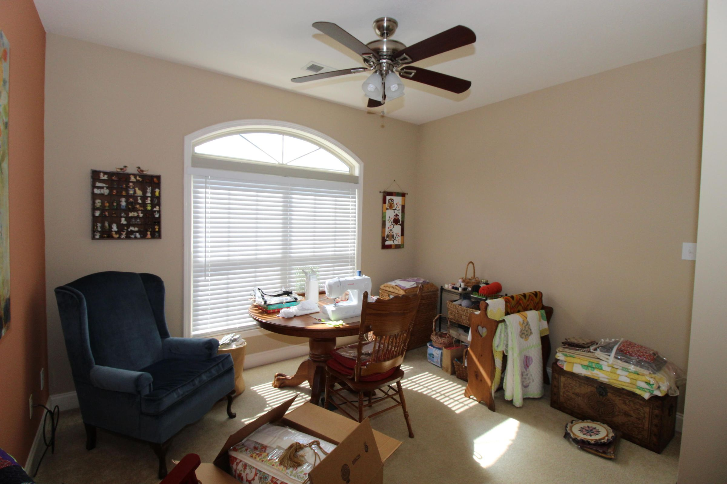 3rd bedroom, used as a sewing room
