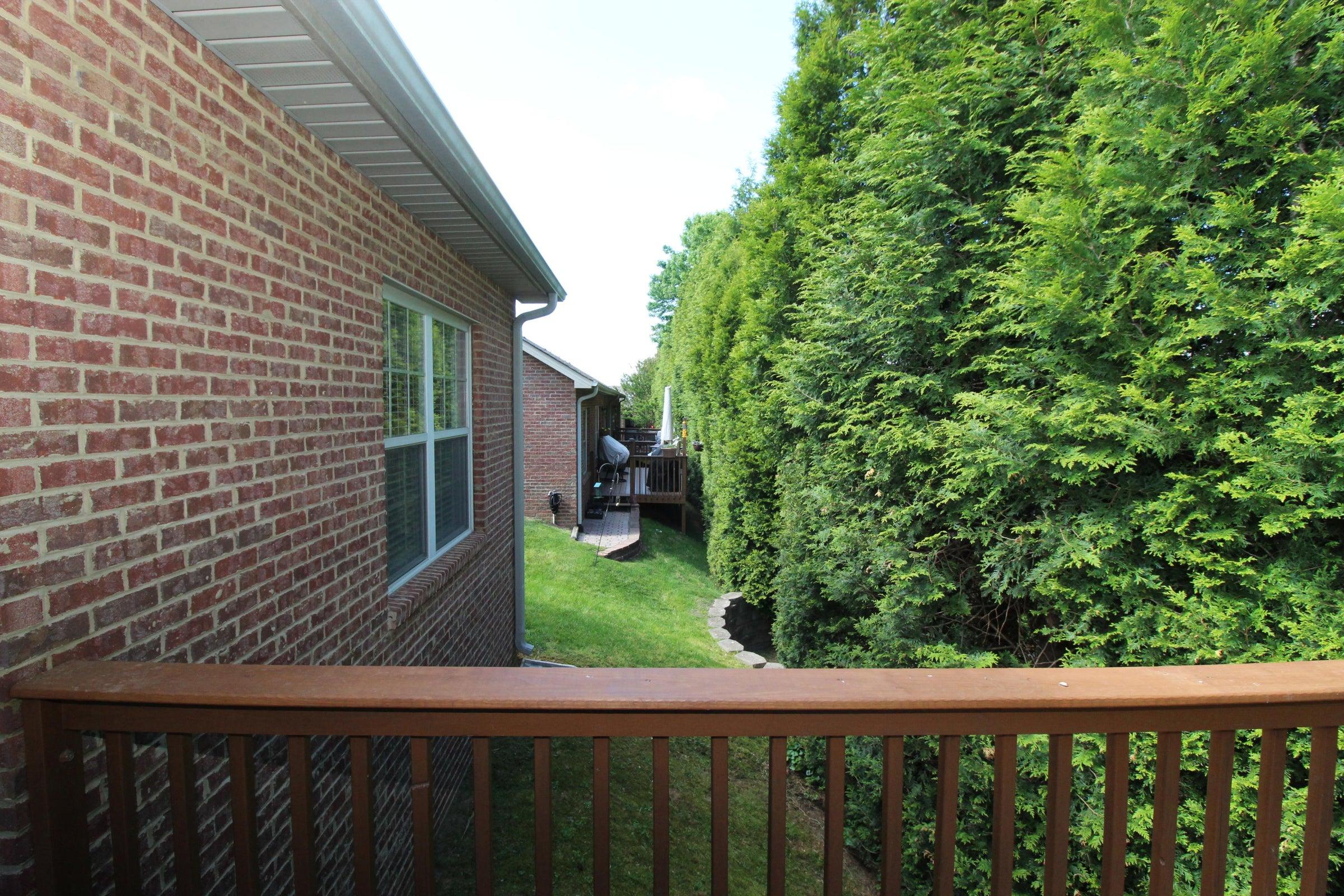 View of neighboring condos