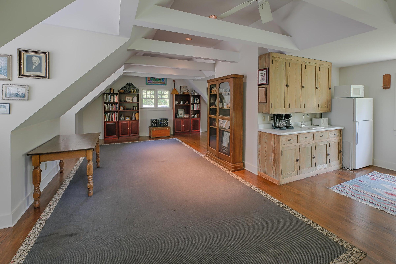 Guest or studio area above garage