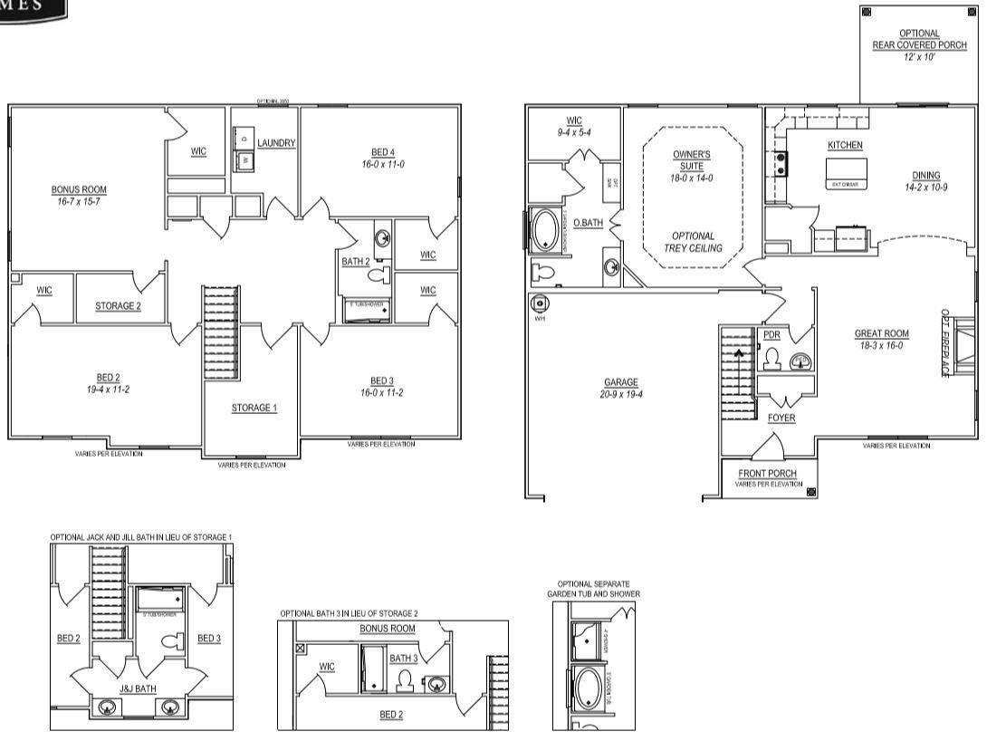 Eliot Floor Plan