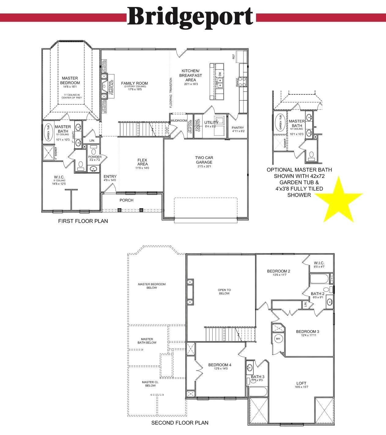 Bridgeport Floor Plan